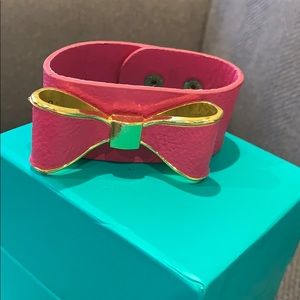 Jewelry - Pink bow cuff